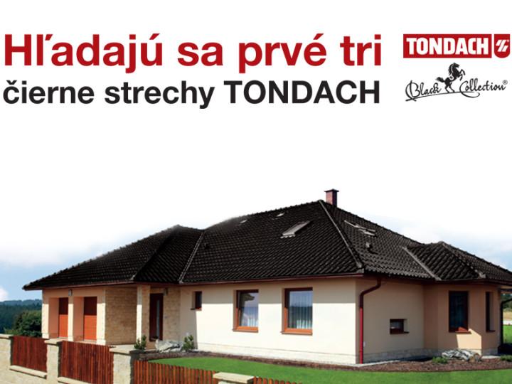 Hľadajú sa prvé tri čierne strechy TONDACH